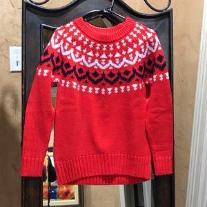 NWT J. Crew fair isle sweater, size XS🥰🥰